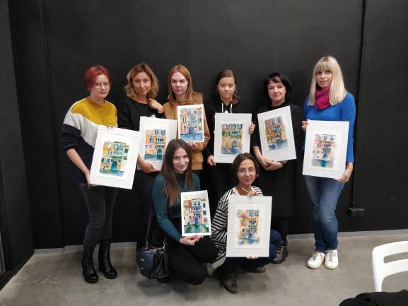 От хобби до успешного видеокурса с клиентами по всей России и миру: эта девушка начинала с рисунков акварелью